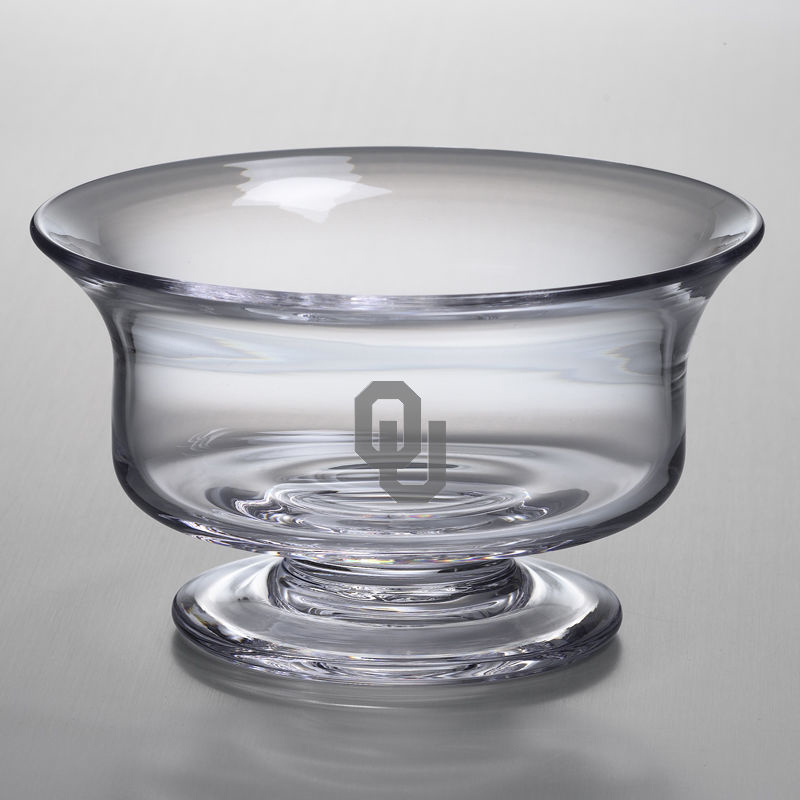 Oklahoma Medium Glass Revere Bowl by Simon Pearce