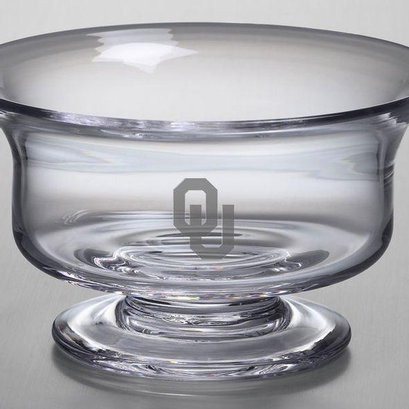 Oklahoma Medium Glass Revere Bowl by Simon Pearce - Image 2