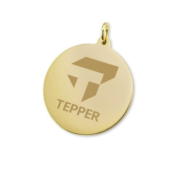 Tepper 18K Gold Charm