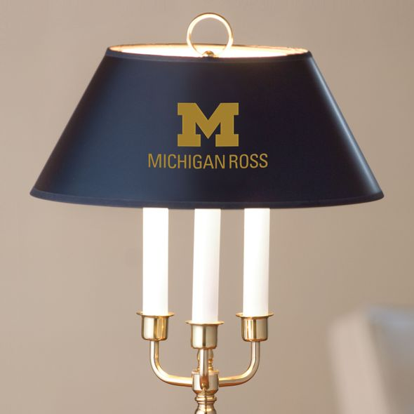 Michigan Ross Lamp in Brass & Marble - Image 2