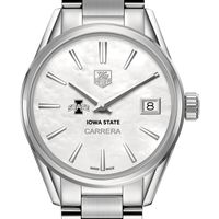 Iowa State University Women's TAG Heuer Steel Carrera with MOP Dial