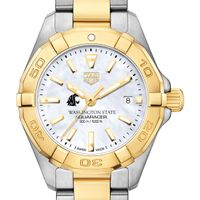 Washington State University TAG Heuer Two-Tone Aquaracer for Women