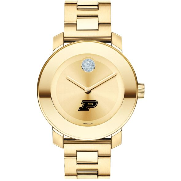 Purdue University Women's Movado Gold Bold - Image 2