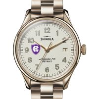 Holy Cross Shinola Watch, The Vinton 38mm Ivory Dial