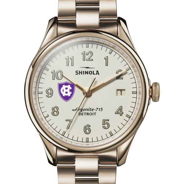 Holy Cross Shinola Watch, The Vinton 38mm Ivory Dial - Image 1
