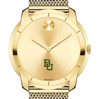 Baylor University Men's Movado Gold Bold 44