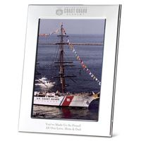 Coast Guard Academy Polished Pewter 5x7 Picture Frame