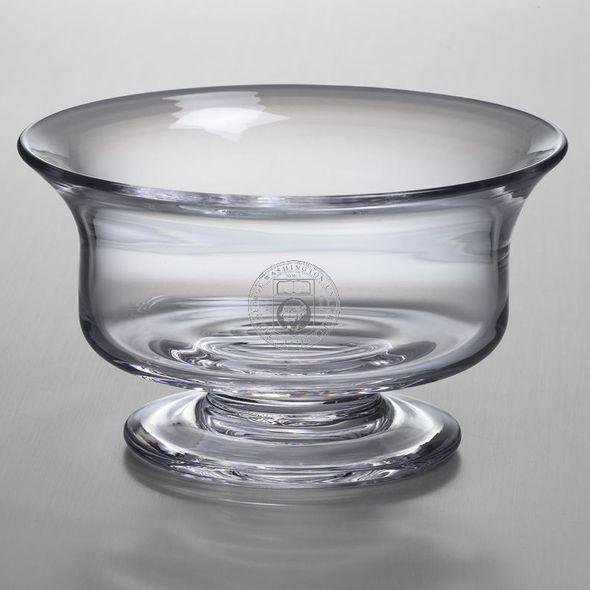 George Washington Simon Pearce Glass Revere Bowl Med