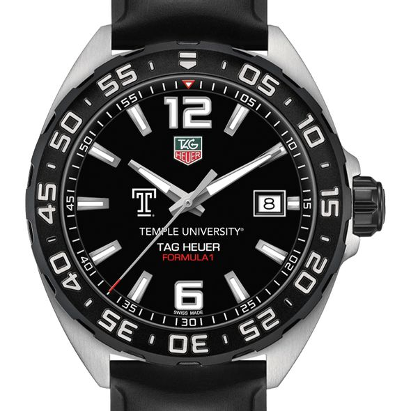 Temple Men's TAG Heuer Formula 1 with Black Dial