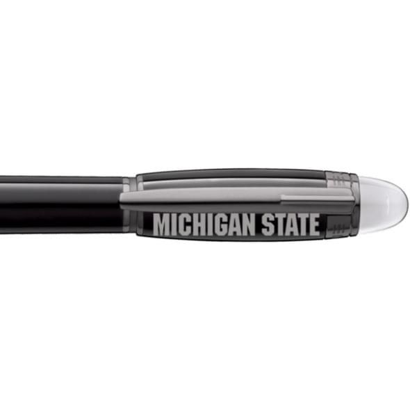 Michigan State University Montblanc StarWalker Fineliner Pen in Ruthenium - Image 2