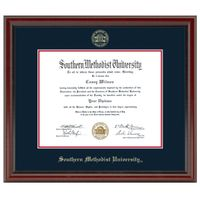 Southern Methodist University Fidelitas Diploma Frame Masters/Ph.D.