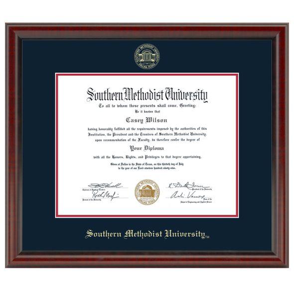 Southern Methodist University Fidelitas Diploma Frame Masters/Ph.D.