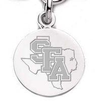 SFASU Sterling Silver Charm