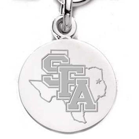 SFASU Sterling Silver Charm - Image 1