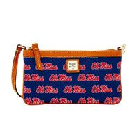 Ole Miss  Dooney & Bourke Large Slim Wristlet