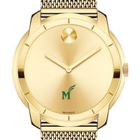 George Mason University Men's Movado Gold Bold 44