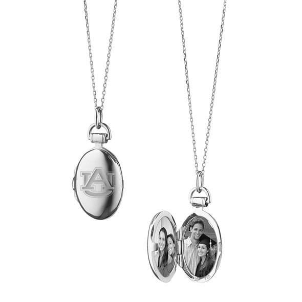 Auburn Monica Rich Kosann Petite Locket in Silver