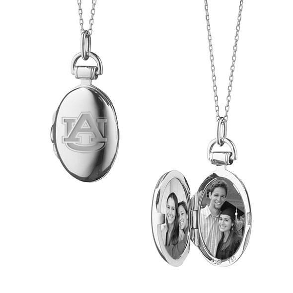 Auburn Monica Rich Kosann Petite Locket in Silver - Image 2