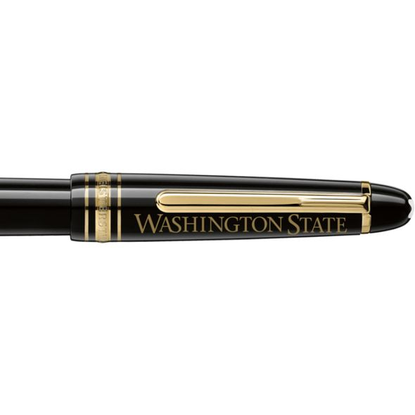 Washington State University Montblanc Meisterstück Classique Fountain Pen in Gold - Image 2