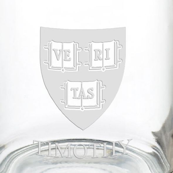 Harvard University 13 oz Glass Coffee Mug - Image 3
