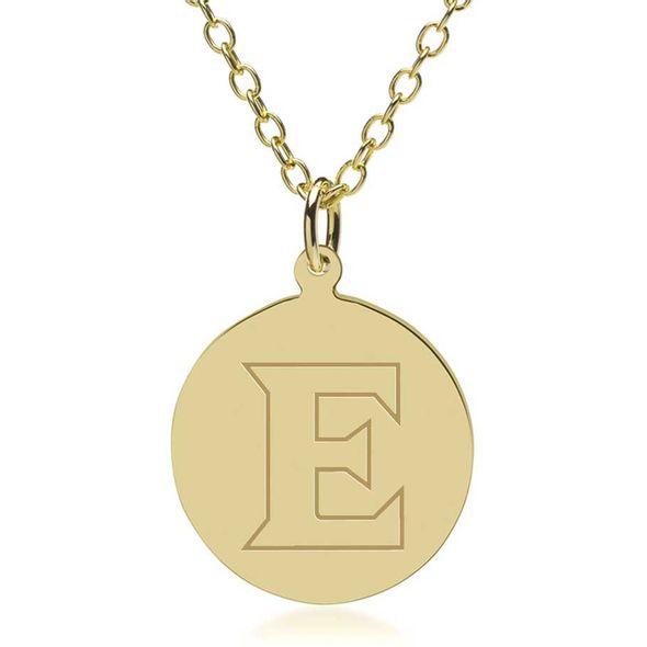 Elon 14K Gold Pendant & Chain