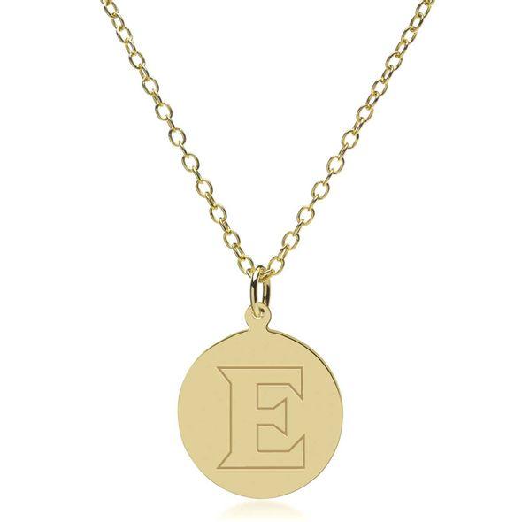 Elon 14K Gold Pendant & Chain - Image 2
