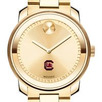 University of South Carolina Men's Movado Gold Bold