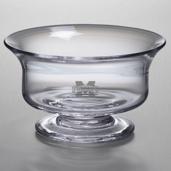 MS State Simon Pearce Glass Revere Bowl Med