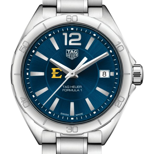 East Tennessee State Women's TAG Heuer Formula 1 with Blue Dial - Image 1