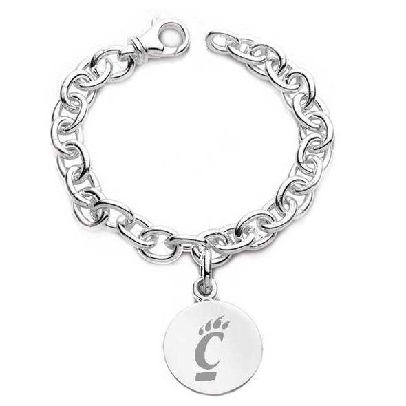 Cincinnati Sterling Silver Charm Bracelet - Image 1