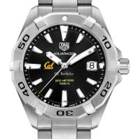 Berkeley Men's TAG Heuer Steel Aquaracer with Black Dial