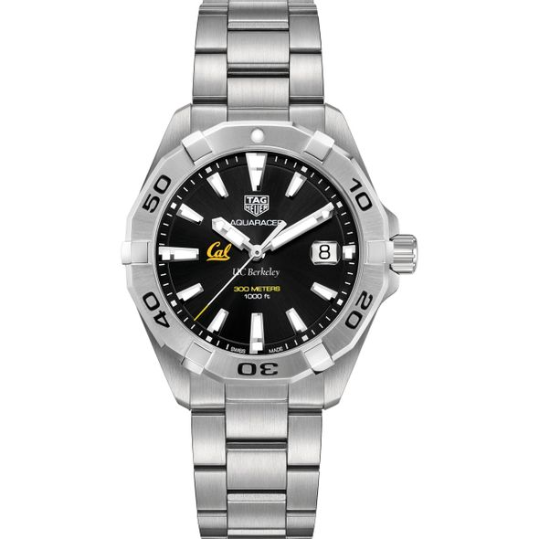 Berkeley Men's TAG Heuer Steel Aquaracer with Black Dial - Image 2