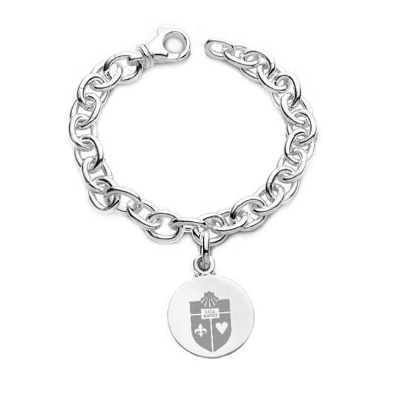St. John's Sterling Silver Charm Bracelet