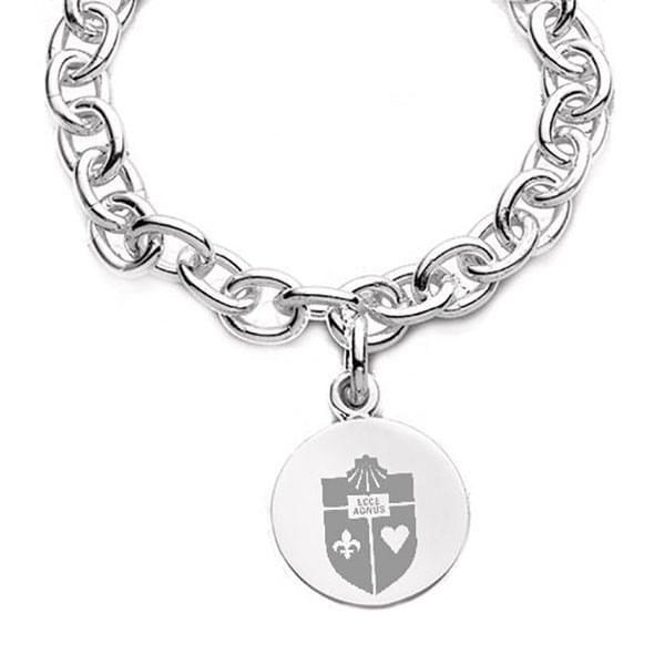 St. John's Sterling Silver Charm Bracelet - Image 2