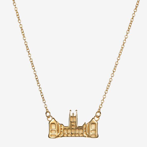 Boston College 14K Gold Campus Architecture Necklace by Kyle Cavan - Image 2