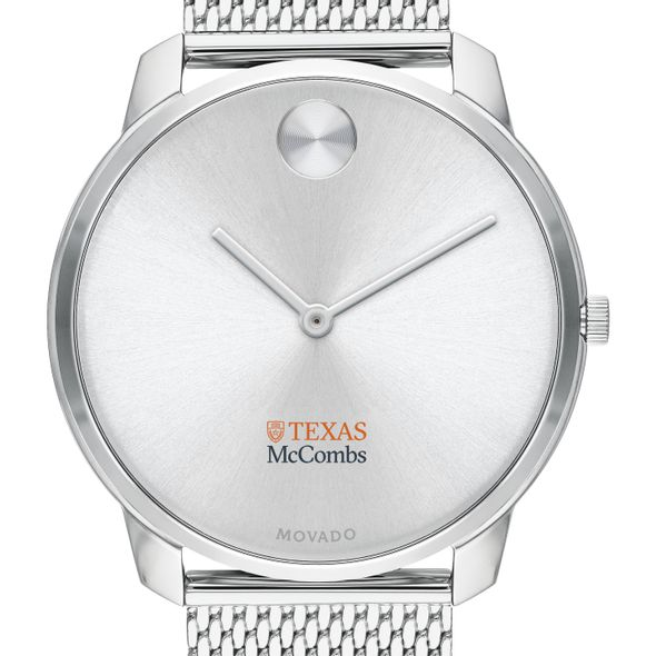 McCombs School of Business Men's Movado Stainless Bold 42 - Image 1