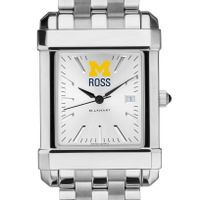 Michigan Ross Men's Collegiate Watch w/ Bracelet