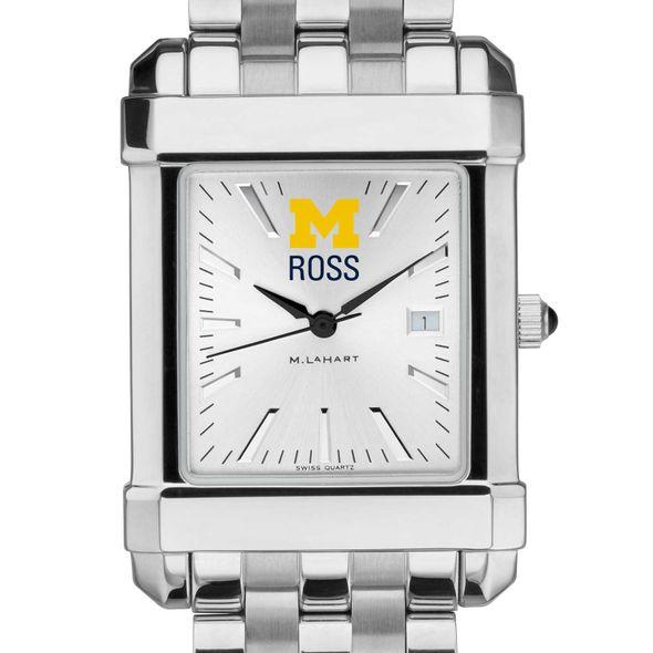 Michigan Ross Men's Collegiate Watch w/ Bracelet - Image 1