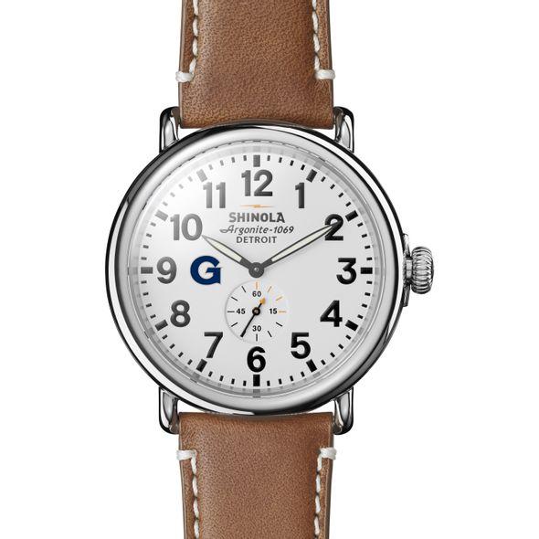 Georgetown Shinola Watch, The Runwell 47mm White Dial - Image 2