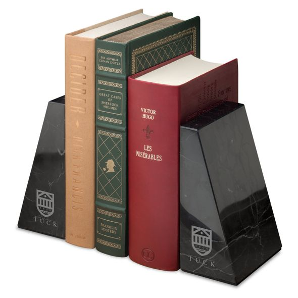 Tuck Marble Bookends by M.LaHart