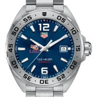 LSU Men's TAG Heuer Formula 1 with Blue Dial