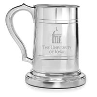 University of Iowa Pewter Stein