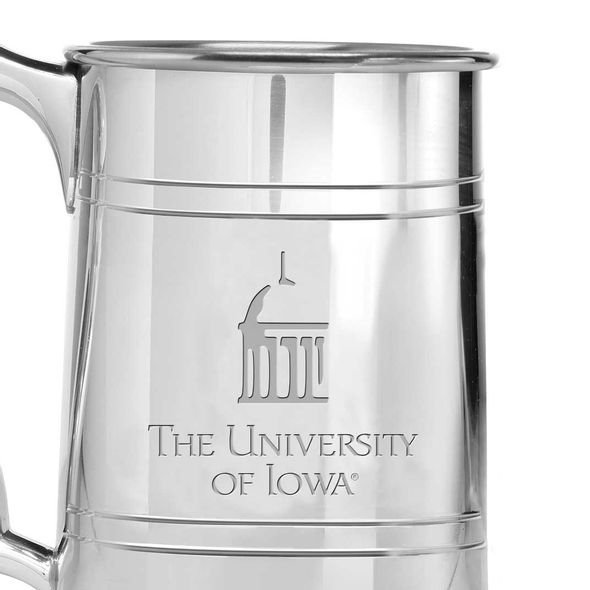University of Iowa Pewter Stein - Image 2
