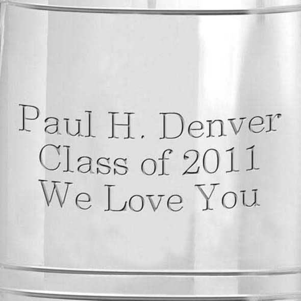University of Iowa Pewter Stein - Image 3