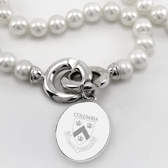 Columbia Pearl Necklace with Sterling Silver Charm - Image 2