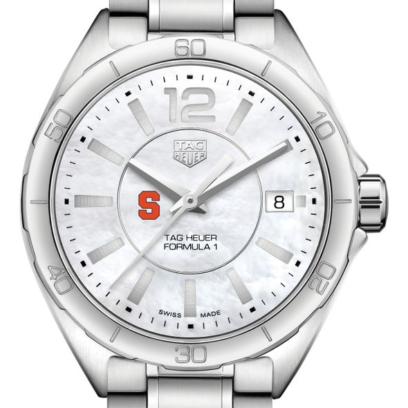 Syracuse University Women's TAG Heuer Formula 1 with MOP Dial