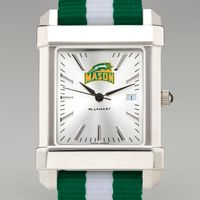 George Mason University Collegiate Watch with NATO Strap for Men