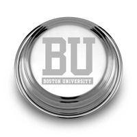 Boston University Pewter Paperweight