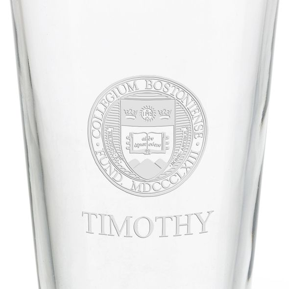 Boston College 16 oz Pint Glass - Image 3