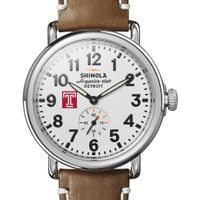 Temple Shinola Watch, The Runwell 41mm White Dial